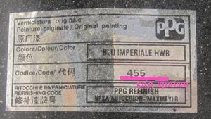 фиат альбеа коды красок