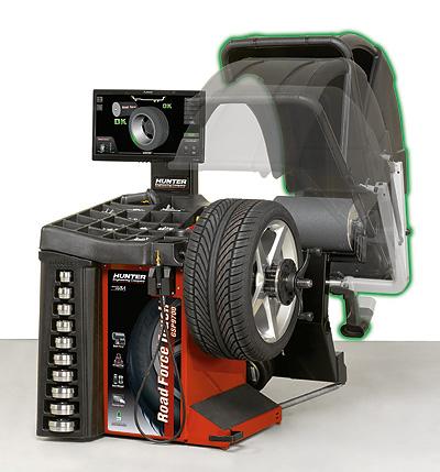 дорожная балансировка колеса под нагрузкой