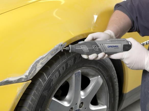 Удаление ржавчины и покраска автомобиля видео