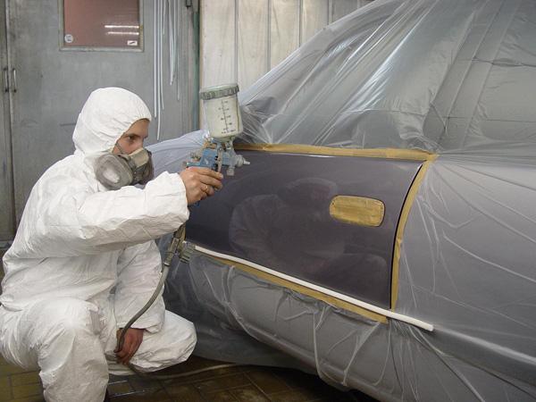 Как покрасить крыло автомобиля своими руками в домашних условиях