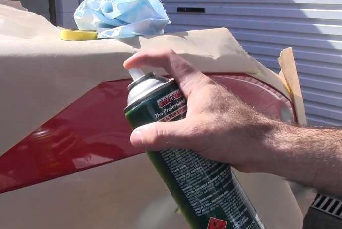 Покрасить машину баллончиком своими руками видео